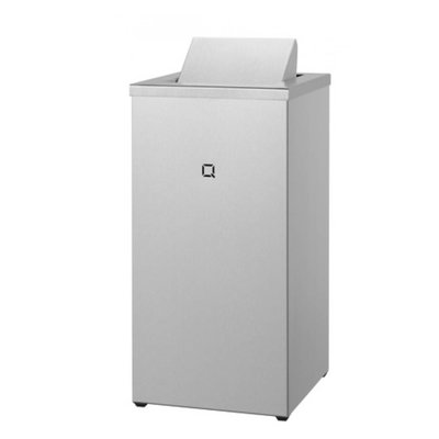 Qbic-line Afvalbak gesloten 30 liter