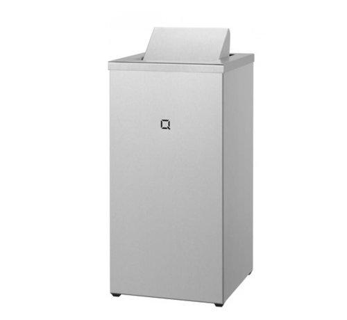 Qbic-line Waste bin closed 30 liters