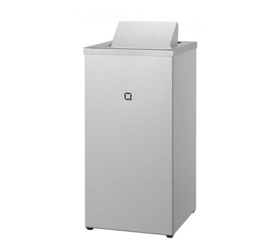 Afvalbak gesloten 30 liter