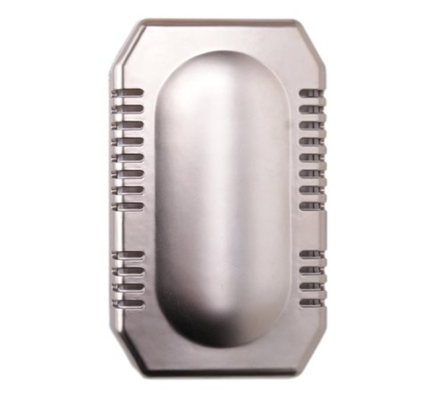 Air freshener stainless steel look