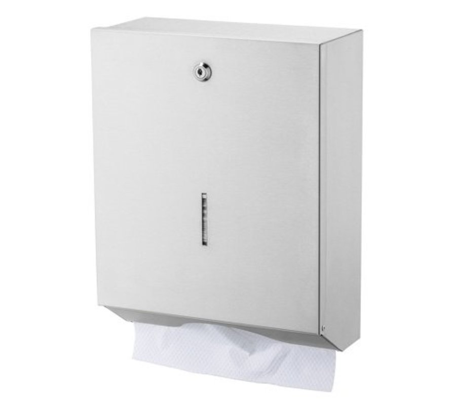 Distributeur d'essuie-mains grand