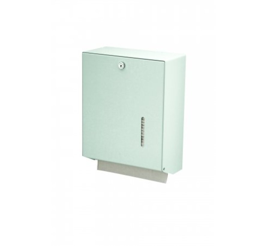 Towel dispenser white large