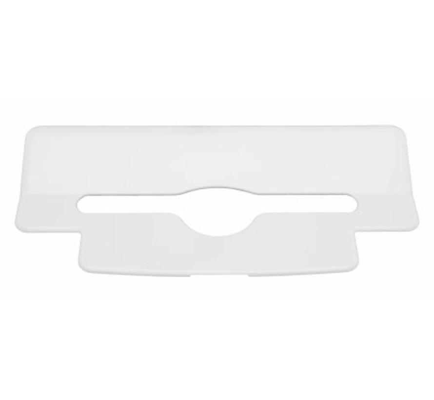 Insert towel dispenser plastic
