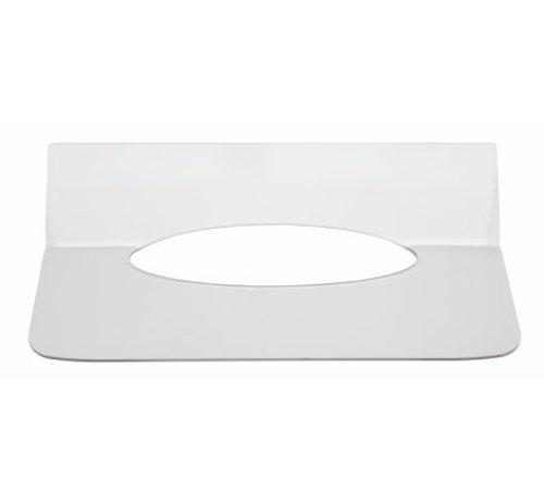 PlastiQline Exclusive Inlegplaatje handdoekdispenser