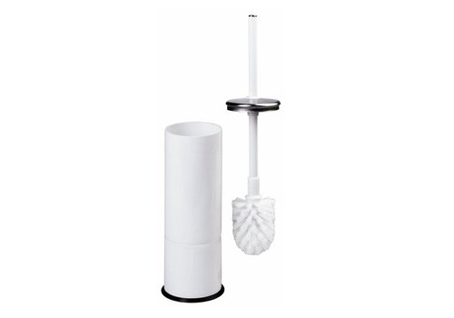 Mediclinics Toiletborstelhouder wit