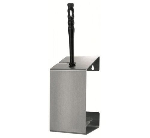 MediQo-line Porte-brosse de toilette en acier inoxydable