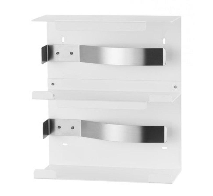 Glove dispenser duo white