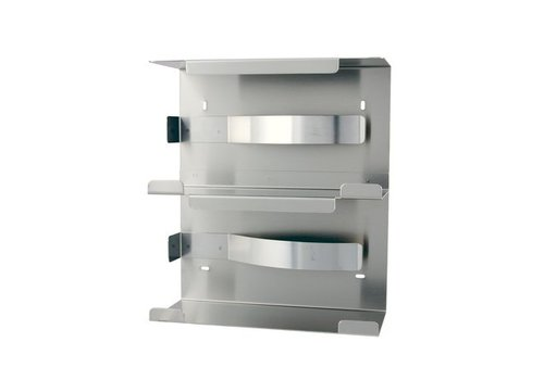 MediQo-line Glove dispenser duo stainless steel