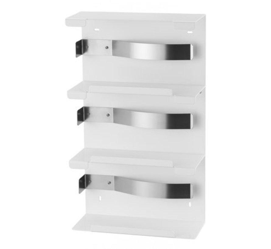 Glove dispenser trio white
