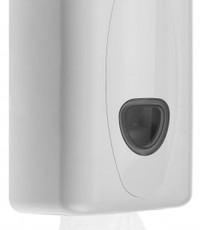 PlastiQline 2020 Toilet tissue dispenser kunststof wit