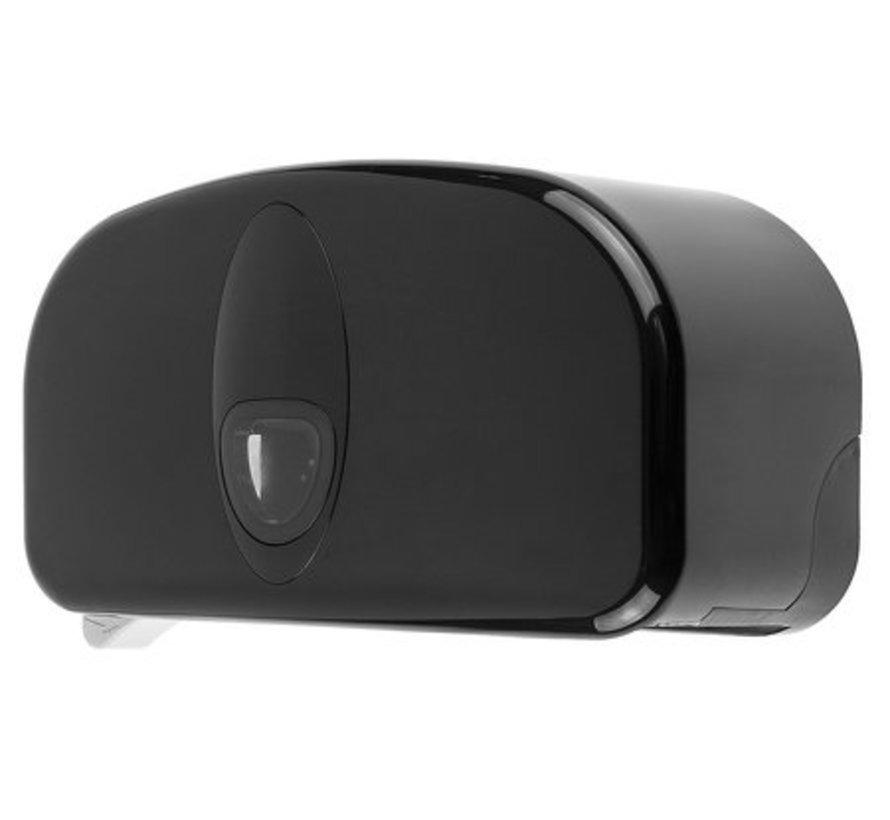 2-roll holder plastic black (tubeless)