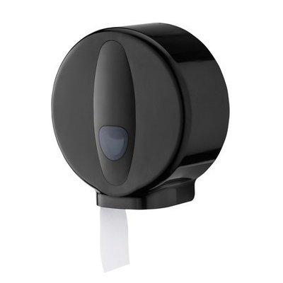 PlastiQline 2020 Jumboroldispenser mini kunststof zwart