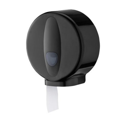 PlastiQline 2020 Distributeur de petits rouleaux mini en plastique noir