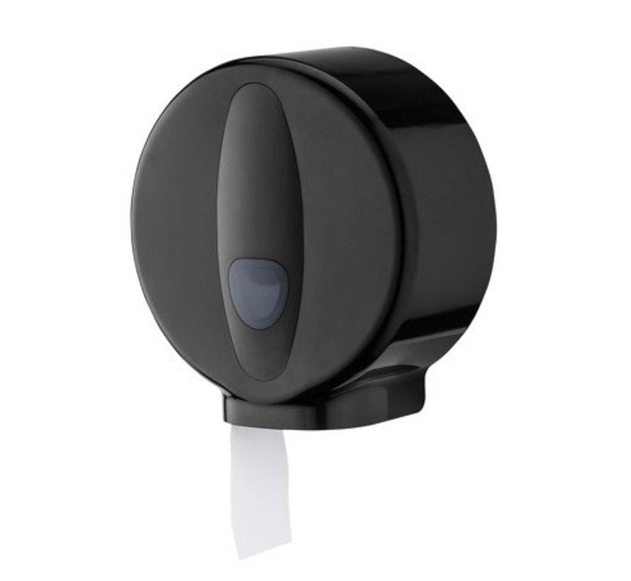 Distributeur de petits rouleaux mini en plastique noir