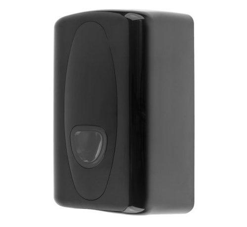 PlastiQline 2020 Distributeur de papier hygiénique en plastique noir