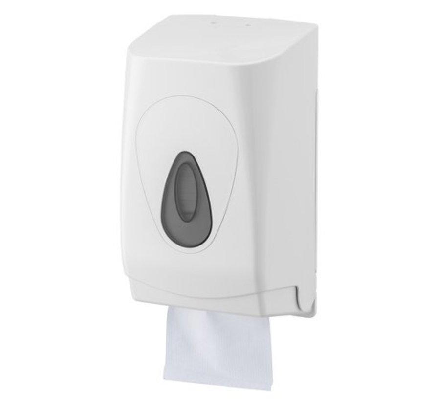 Distributeur de papier hygiénique en plastique