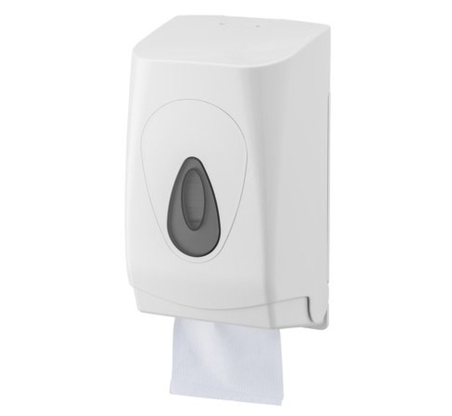 Toilet tissue dispenser plastic