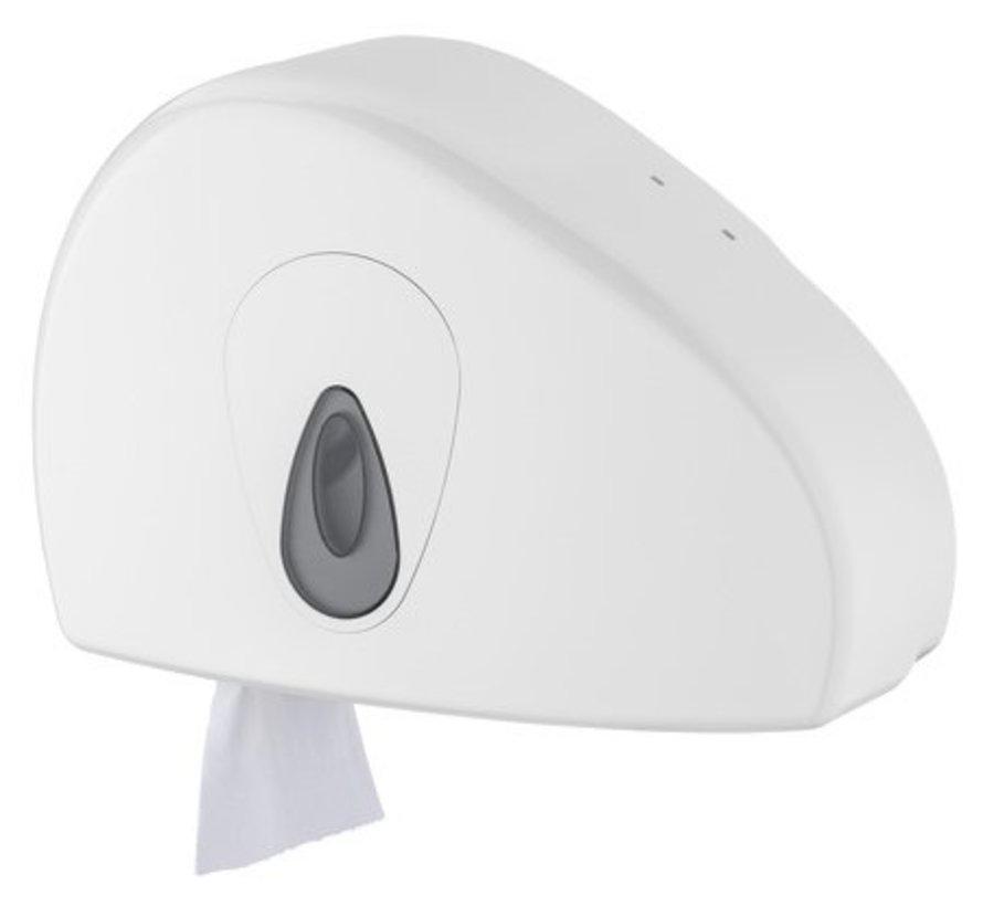 Jumbo dispenser mini + rest roll plastic