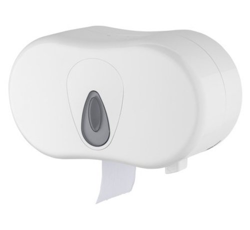 PlastiQline  Support plastique à 2 rouleaux (standard)