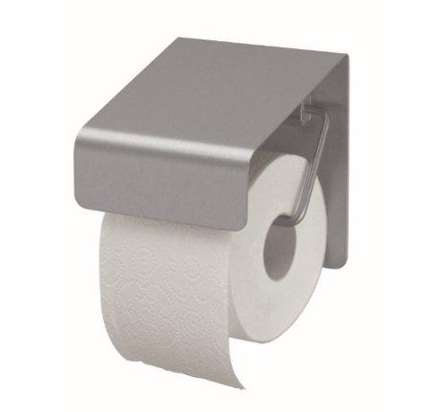 MediQo-line Porte rouleau de papier toilette inox