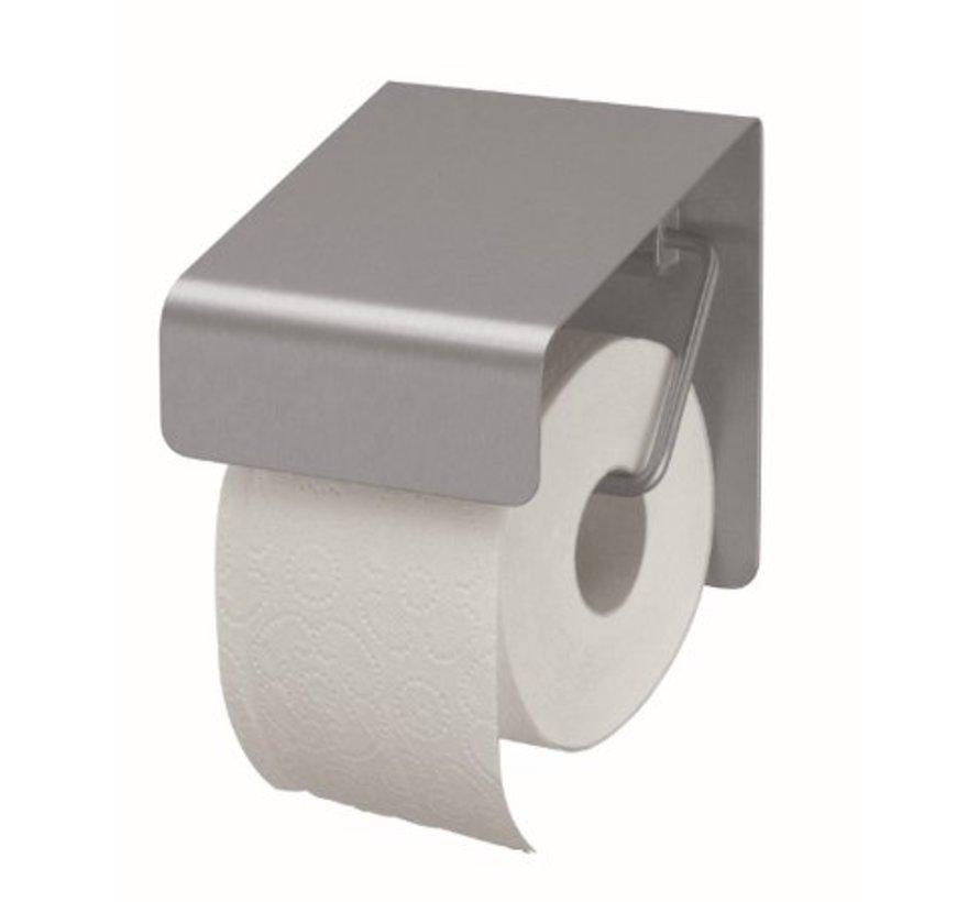 Porte rouleau de papier toilette inox