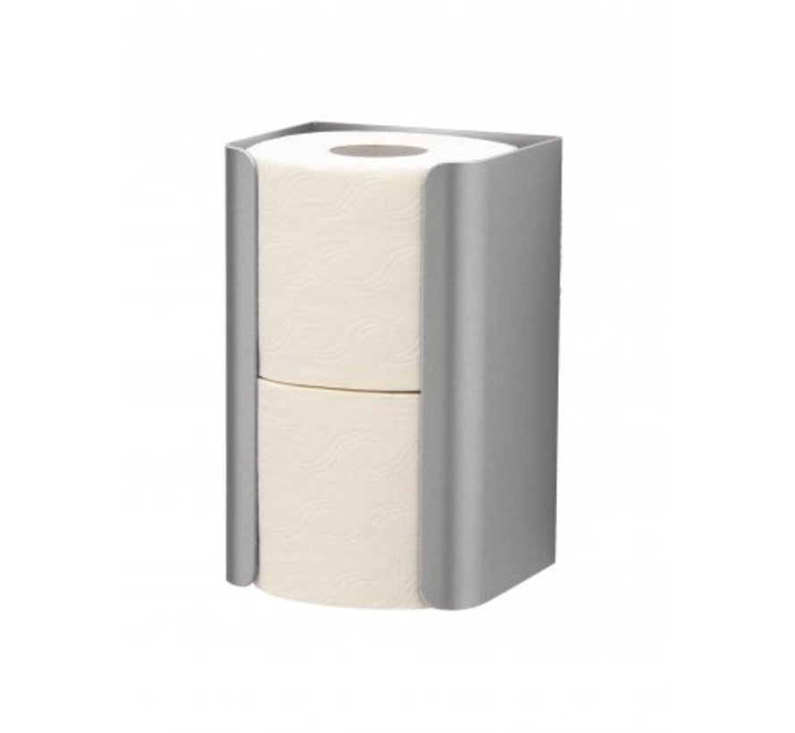 Spare toilet roll holder stainless steel