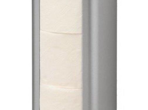 MediQo-line Spare roll holder aluminum trio