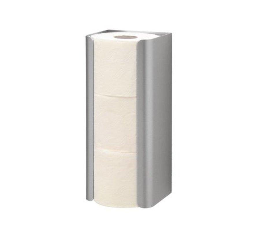 Porte rouleau de rechange trio aluminium