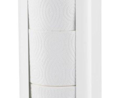 MediQo-line Porte-rouleau de rechange trio blanc