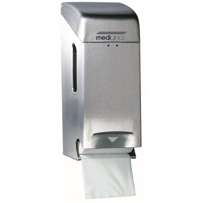 Mediclinics 2-roll holder stainless steel