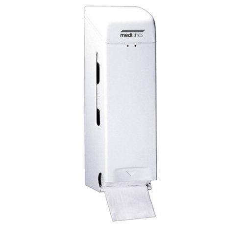 Mediclinics 3-roll holder white