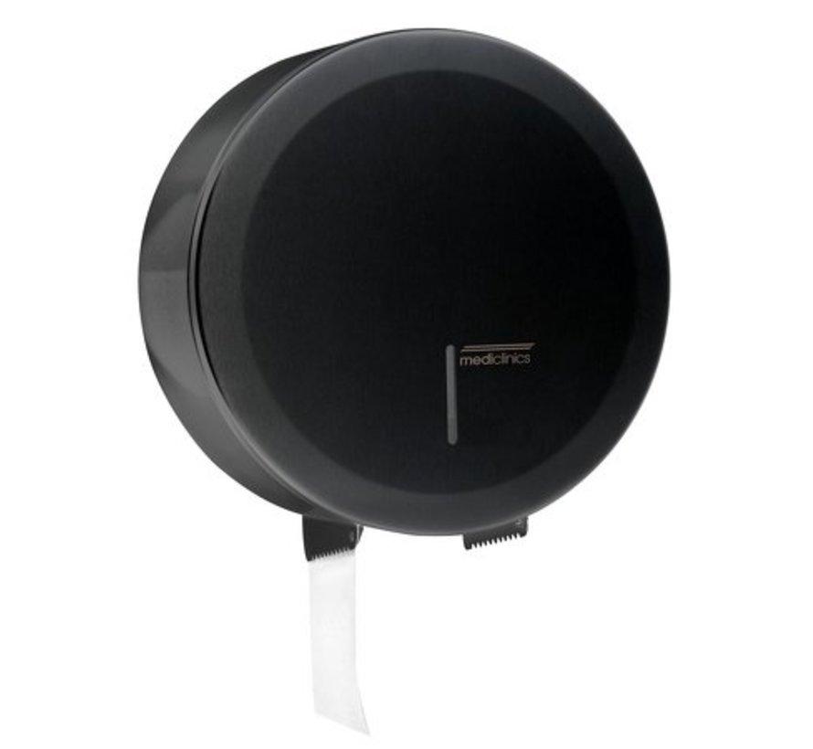 Jumbo roll dispenser large black