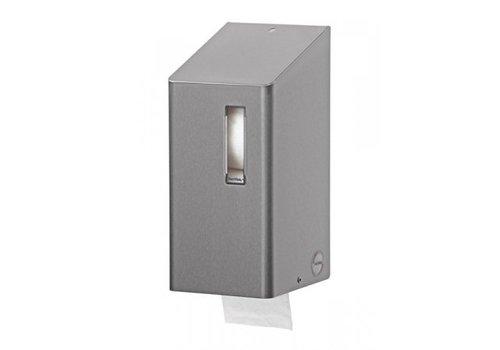 SanTRAL Toilet roll holder 2-roll stainless steel