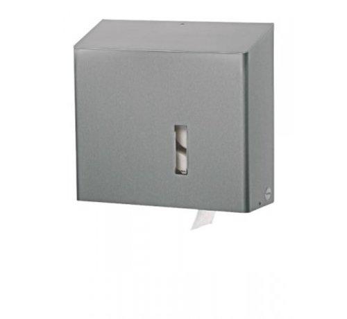 SanTRAL Toiletrolhouder 4rols RVS