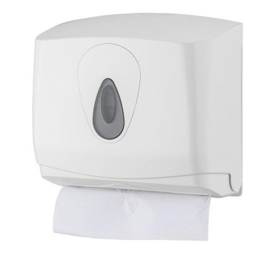 Handdoekdispenser mini kunststof