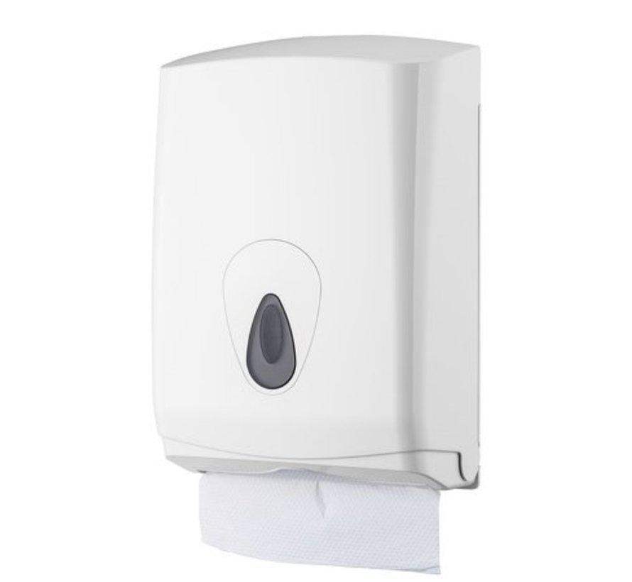 Distributeur d'essuie-mains midi en plastique