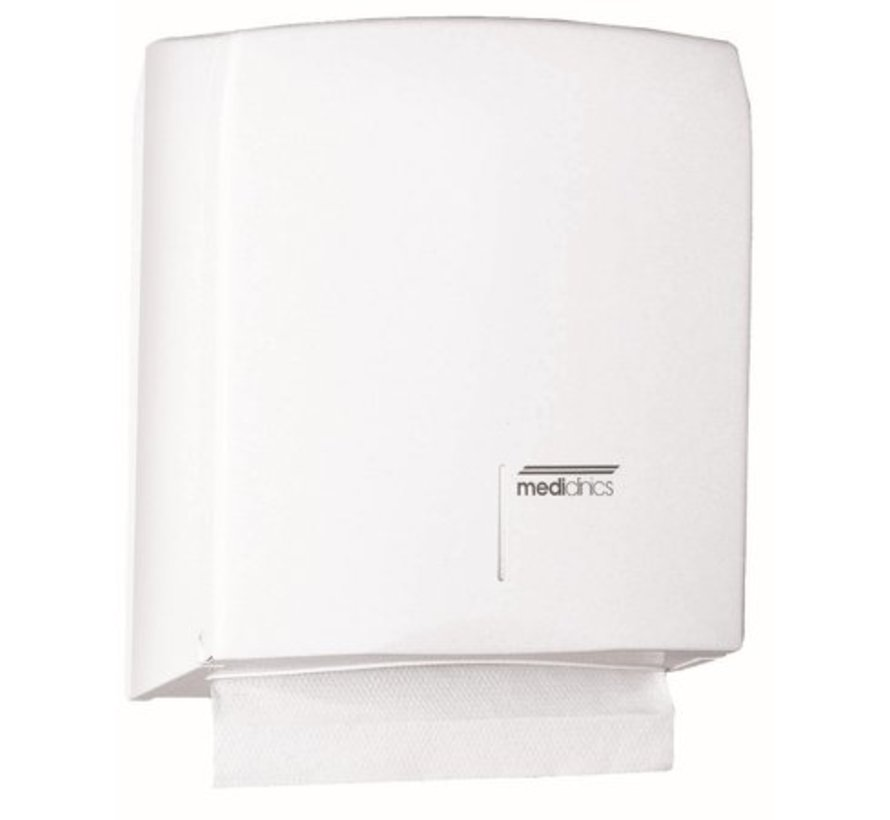 Towel dispenser white