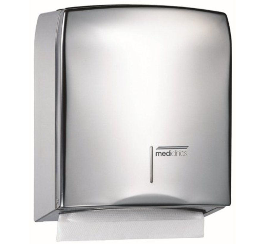 High-gloss towel dispenser