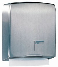 Mediclinics Towel dispenser stainless steel