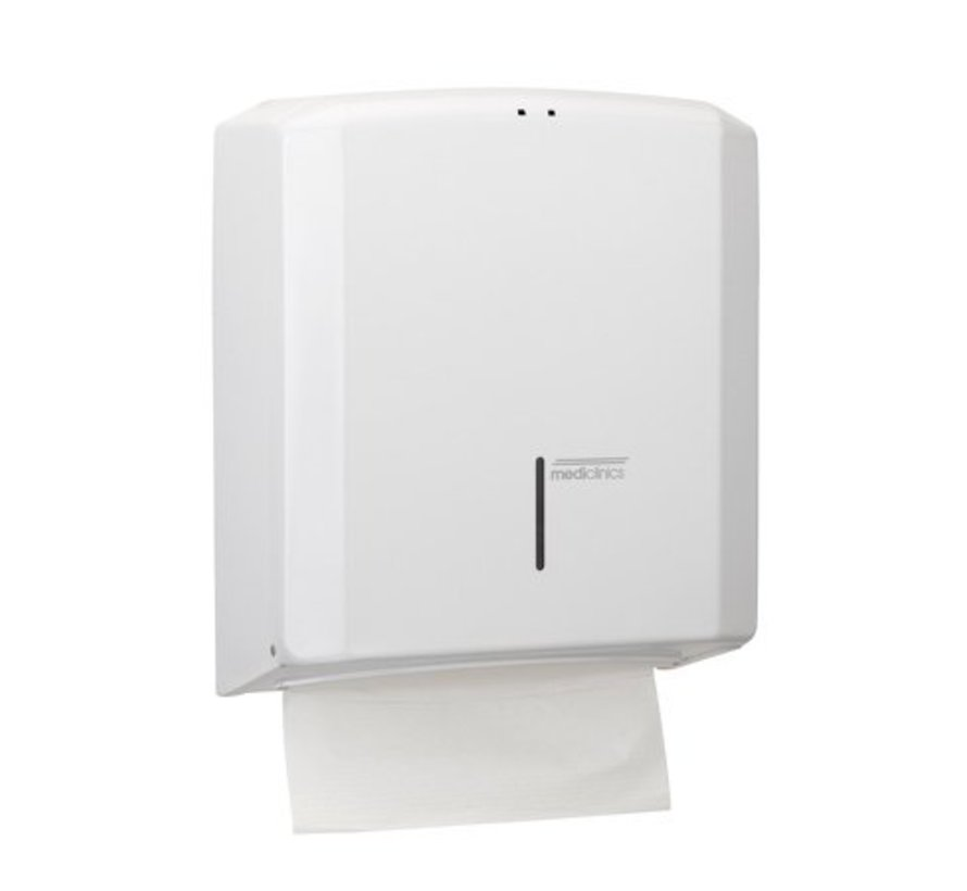Towel dispenser white