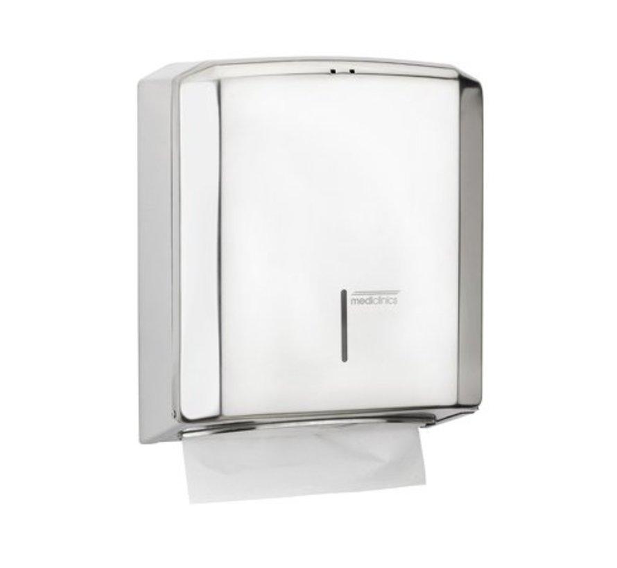 High-gloss towel dispenser
