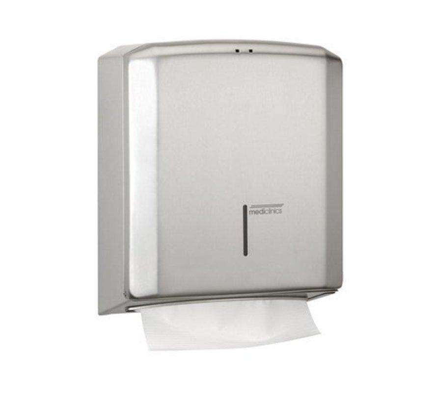 Towel dispenser stainless steel