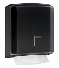 Mediclinics Hand towel dispenser black
