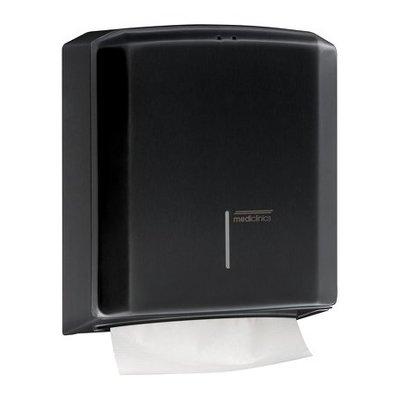 Mediclinics Hand towel dispenser black
