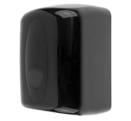 PlastiQline 2020 Distributeur de rouleaux de nettoyage midi en plastique noir