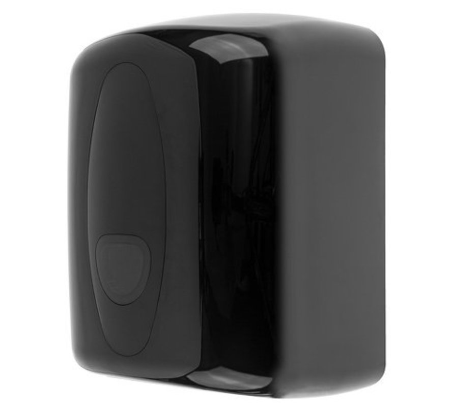 Cleaning roll dispenser midi plastic black