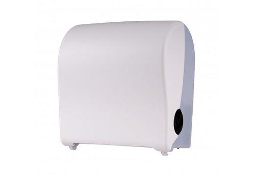 PlastiQline 2020 Handdoekroldispenser kunststof wit mini