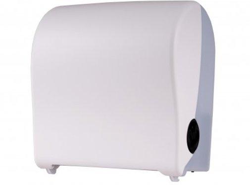 PlastiQline 2020 Distributeur d'essuie-mains en plastique blanc mini