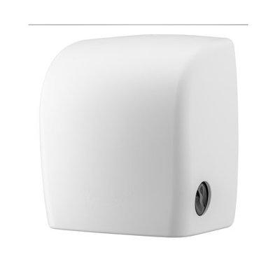PlastiQline 2020 Distributeur de serviettes en plastique blanc + rouleau de repos