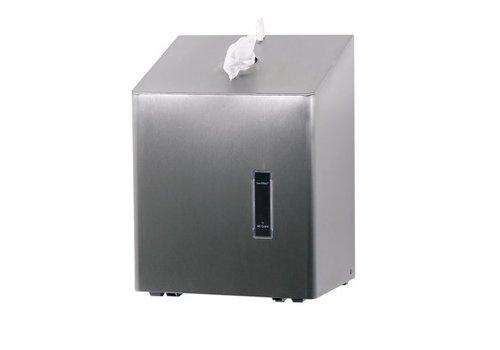 SanTRAL Cleaning roll dispenser midi table model